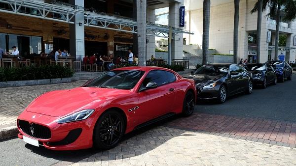 Siêu xe GranTurismo Sport nổi bật trong tông màu đỏ