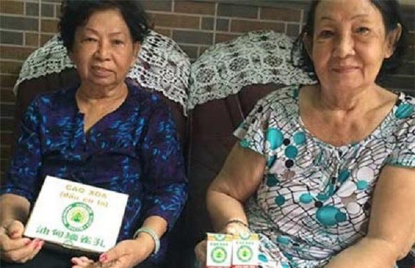 Chị em bà Lê Kim Nga - Lê Kim Phụng và tổng đại lý của dầu Cù Là Mac Phsu tại Sài Gòn trước đây