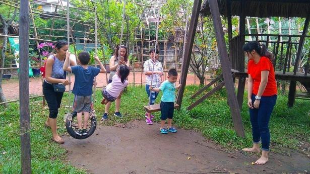 Nông trại đang trở thành điểm đến lý tưởng dành cho gia đình có con nhỏ trong dịp nghỉ Hè.
