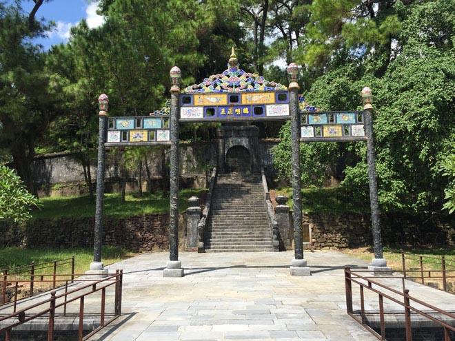 Nơi vua Minh Mạng yên nghỉ