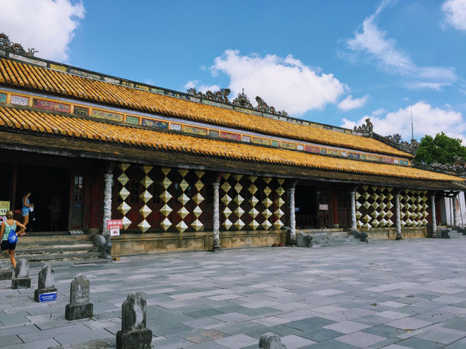 Nơi quan quân Triều Nguyễn bàn chính sự