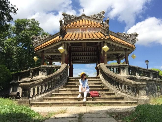 Kiến trúc cổ còn được bảo tồn trong hậu cung nhà Nguyễn