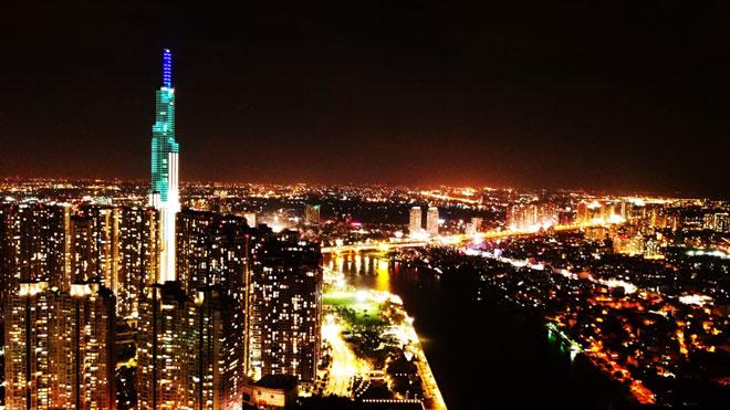 Landmark 81 được xem là biểu tượng mới của Sài Gòn, trước đây tòa nhà Bitexco được xem là biểu tượng của Sài Gòn