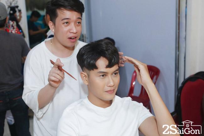 Tong Hao Nhien dep trai trong hau truong (2)