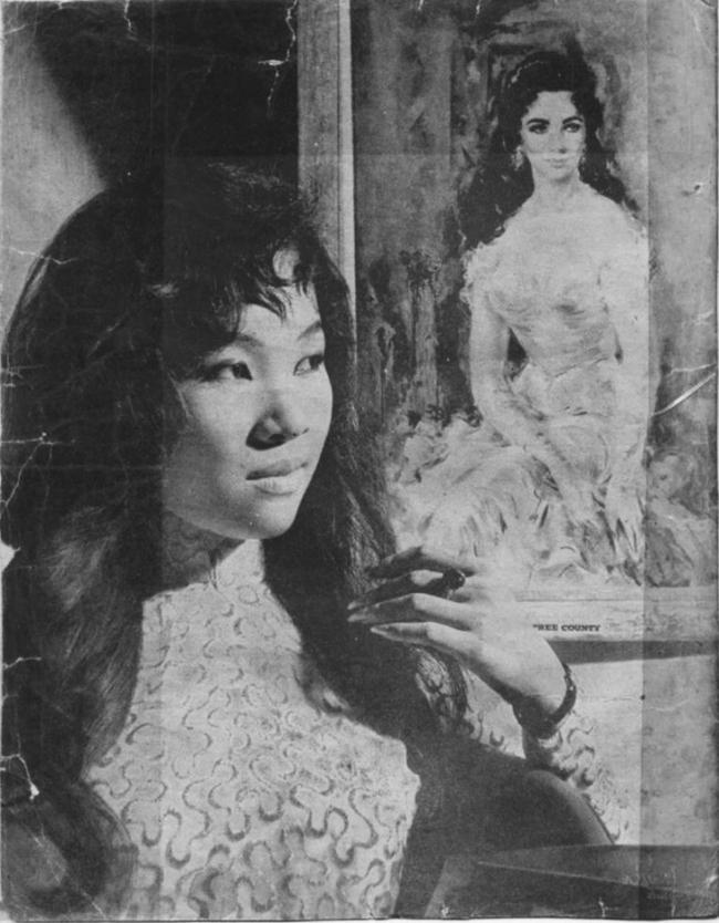 Hình ảnh ca sĩ Thanh Thúy trong phần bài viết của nhà thơ Du Tử Lê