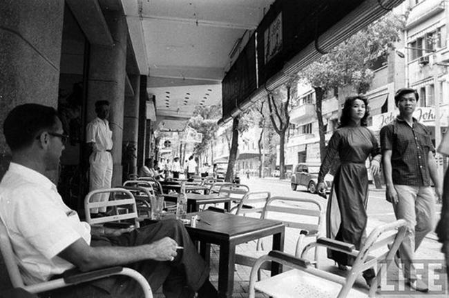 Một góc phố Sài Gòn xưa