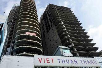 Dự án V-Ikon của công ty Thuận Thành từng được Agribank AMC bán đấu giá với mức khởi điểm 319,5 tỷ đồng vào tháng 9/2017 nhưng không thành công hồi đó