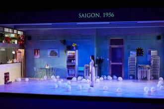 """Vở diễn """"Sài Gòn"""" tại Liên hoan Sân khấu quốc tế Avignon - Ảnh: Christophe/ AFP"""