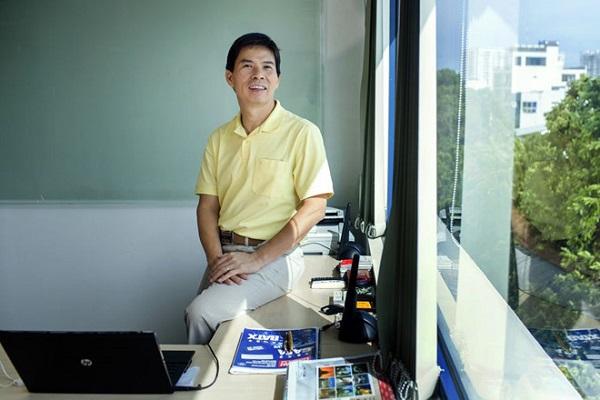 Ông Nguyễn Đức Tài, Chủ tịch HĐQT Thế Giới Di Động. Ảnh: Bloomberg.