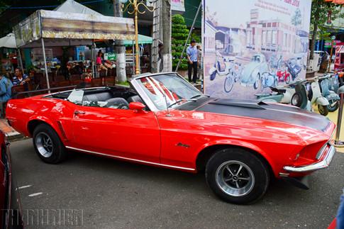 Xe thể thao cơ bắp đậm chất Mỹ - Ford Mustang Convertible đời 1969 đã được chủ nhân phục chế.