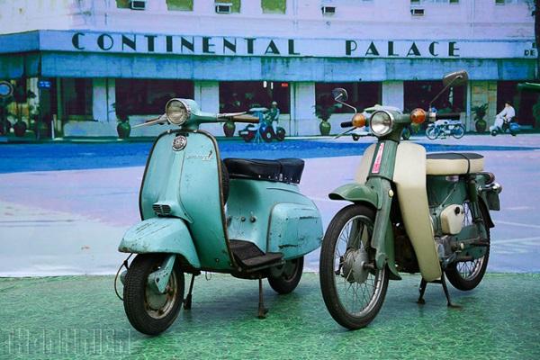 Xe cổ góp phần tái hiện một Sài Gòn xưa giữa nhịp sống đô thị hiện đạiẢNH: TRẦN HOÀNG