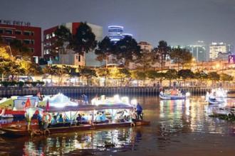 Bến thuyền Thị Nghè - du lịch trên kênh Nhiêu Lộc- một tour mới lạ và độc đáo chỉ duy nhất có tại TPHCM. Ảnh: VIỆT DŨNG