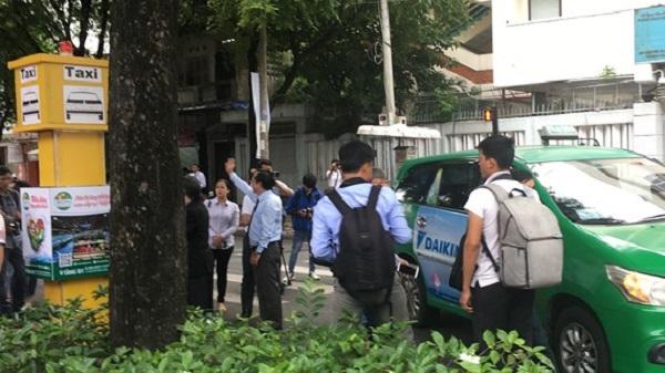 Một điểm đón taxi cố định trên địa bàn quận 1