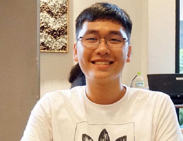 Đỗ Mạnh Hùng. Ảnh: Nguyễn Mai.