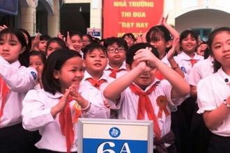 Việc miễn học phí được áp dụng với học sinh THCS công lập, trẻ 5 tuổi trên cả nước. (Ảnh: An Ninh Thủ Đô)
