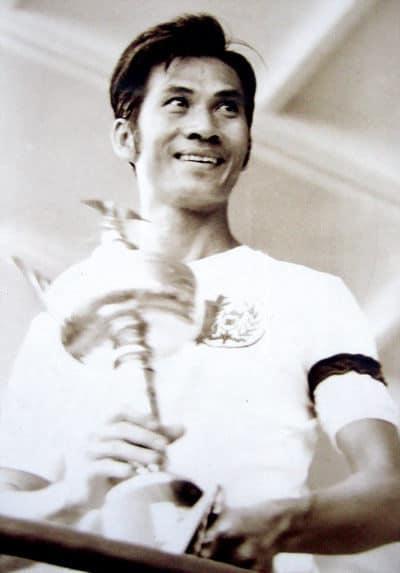 Thủ quân trung vệ Tam Lang và cúp vô địch Merdeka năm 1966 .