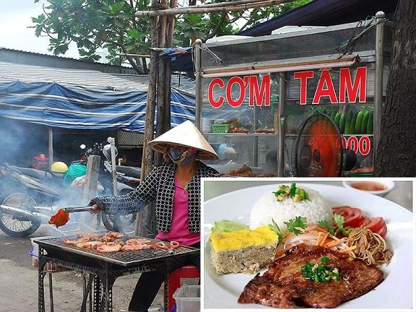 Cơm tấm là một trong những món ăn  được ưa chuộng nhất ở miền Nam. Ảnh: HTD