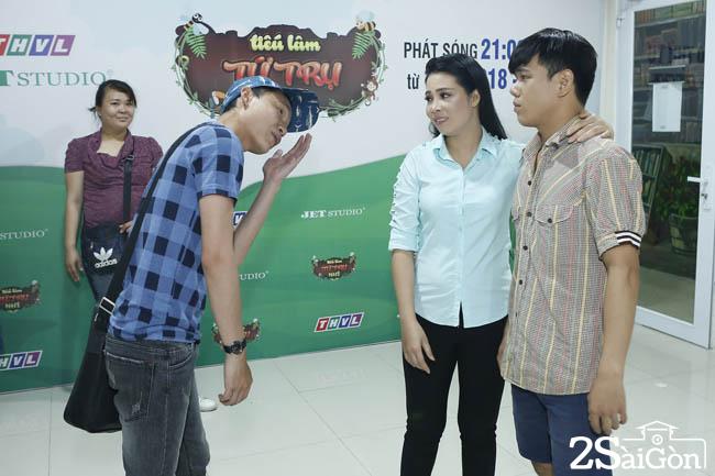 Hoang Hai tap tung cung Kim Luan (2)