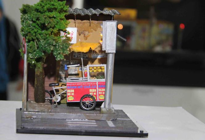 Những mô hình dễ thương tại triển lãm LÊ NAM
