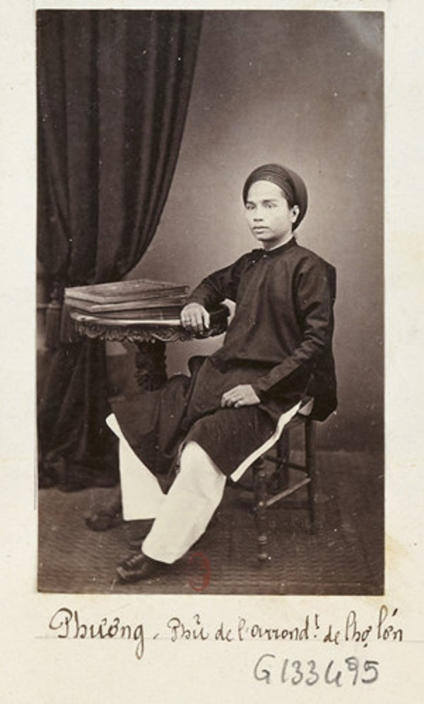 Hình ảnh ông Đỗ Hữu Phương - Tổng đốc Phương - thời trẻ in trên một cuốn sách xuất bản năm 1880. Đỗ Hữu Phương sinh cuối tháng 6/1841 tại Chợ Đũi (Sài Gòn), có cha là Bá hộ Khiêm, một người giàu có tiếng Sài Gòn xưa. Ảnh tư liệu.