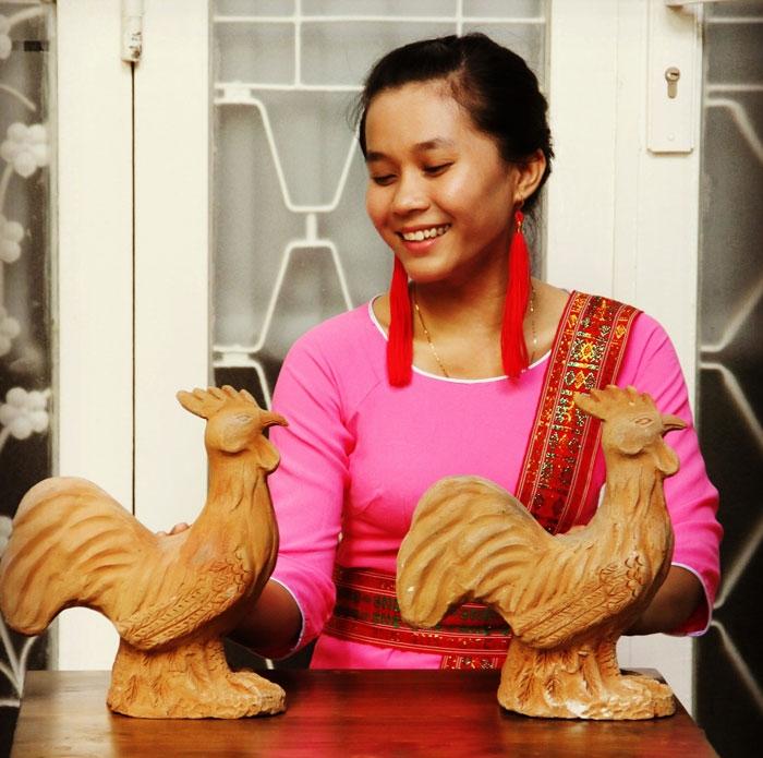 Dự án gốm Bàu Trúc phân phối tại Sài Gòn trong những bước đi đầu tiên với người mẫu đại diện hình ảnh