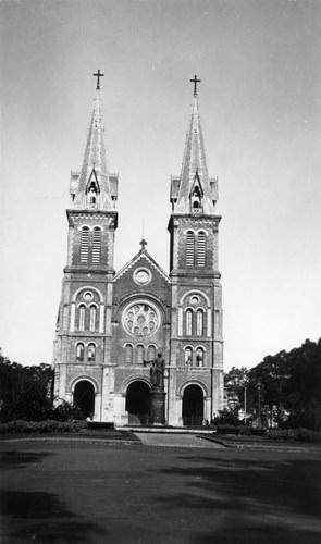 Nhà thờ Đức Bà. Ảnh tư liệu.