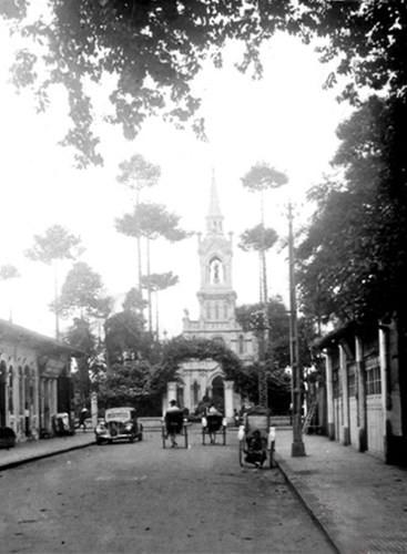 Nhà thờ Cha Tam ở Chợ Lớn. Ảnh tư liệu.
