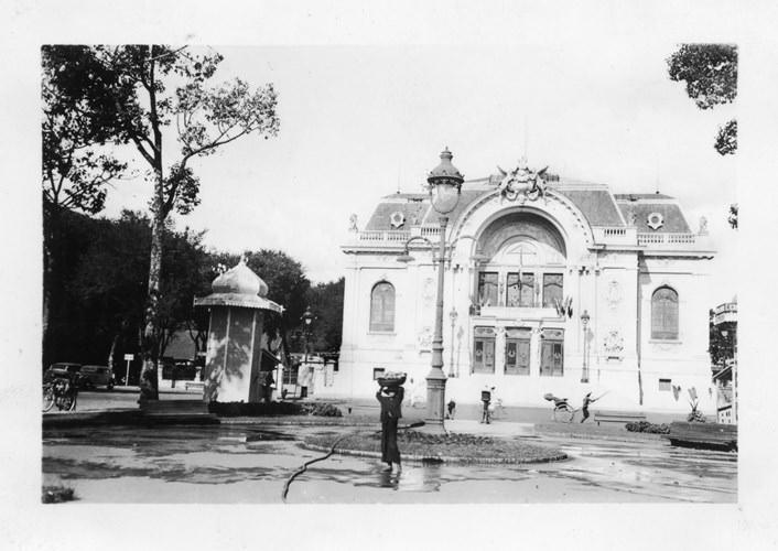 Nhà hát Lớn Sài Gòn. Ảnh tư liệu