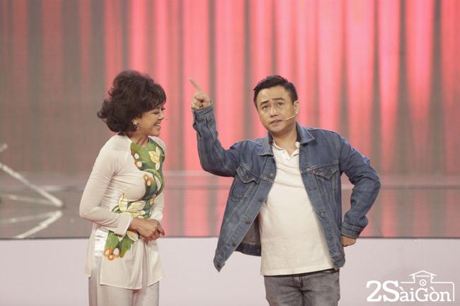 2. Dien vien Huu Tin tham gia tro dien cho thi sinh Ky tai lo dien (2)