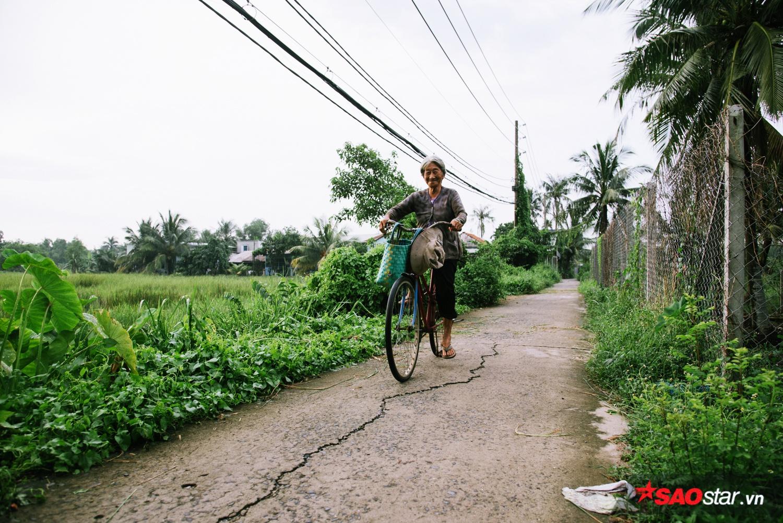 Ở đây nhiều gia đình có diện tích đất rất lớn nhưng họ chỉ dùng được một ít để trồng lúa, sen kiếm thu nhập tạm``, một cư dân nơi đây cho biết.