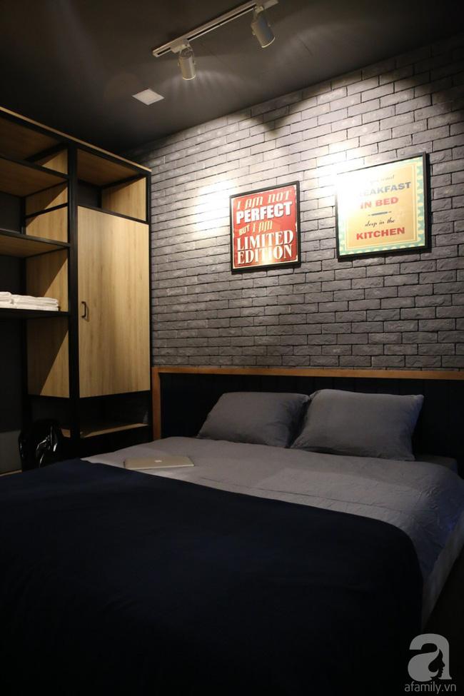 Tông màu tối, trung tính cho phòng ngủ vẻ đẹp tĩnh lặng, yên bình.