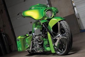 Phong cách độ Bagger vốn là từ được sử dụng để chỉ những mẫu môtô cruiser/touring với túi hoặc hộp đựng hành lý đặt ở hai bên bánh sau xe và không có kính chắn gió trước. Tuy nhiên hiện nay, phong cách bagger đã phát triển và trở thành một trong những kiểu độ được ưa chuộng nhất, đặc biệt với những chiếc xe môtô Harley-Davidson.
