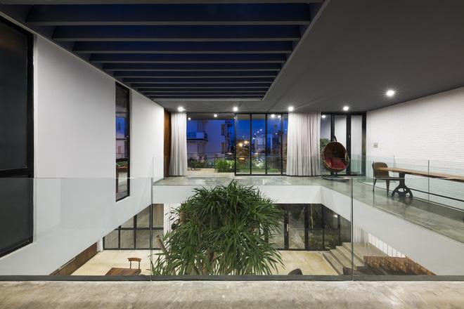 Tất cả thiết kế trong ngôi nhà đều tạo cảm giác thoải mái, dễ chịu cho các thành viên có thể thư giãn trong môi trường đô thị