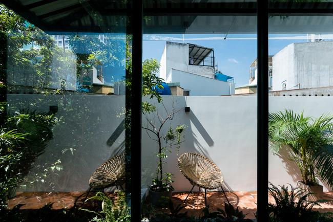 Thiết kế mở giúp căn nhà lúc nào cũng thoáng và sáng
