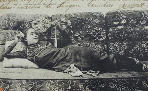 Hoa hậu Sài Gòn năm 1925.