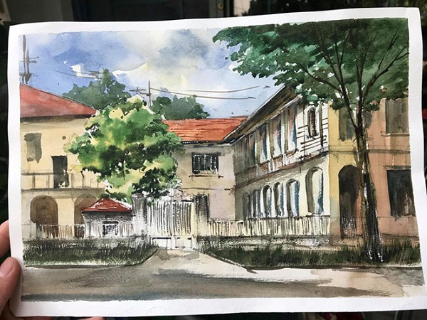 Sài Gòn trong tranh của các bạn trẻ Z.A