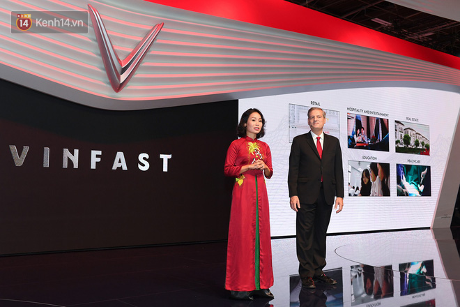 Nữ Chủ tịch VinFast đã có bài phát biểu ngắn gọn, xúc tích nhưng hàm chứa đầy quyết tâm chinh phục.