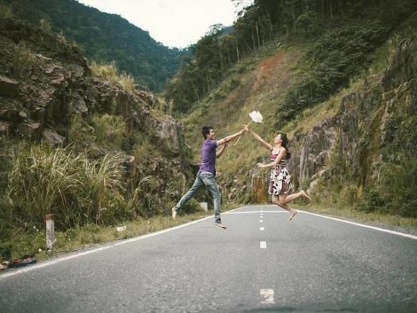 Trên đường đi bạn có thể dừng lại để check in bất cứ khung cảnh nào bạn thích. Ảnh: KA EN