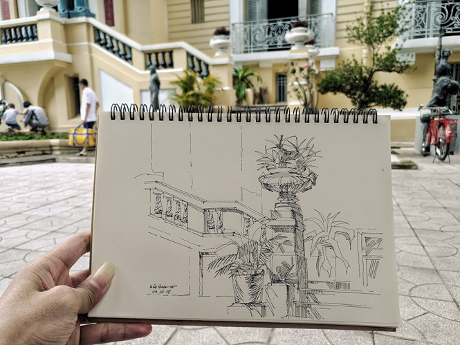 Lưu giữ Sài Gòn bằng nét vẽ Z.A
