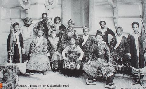 Đoàn hát Sài Gòn tham dự hội chợ Marseille năm 1906