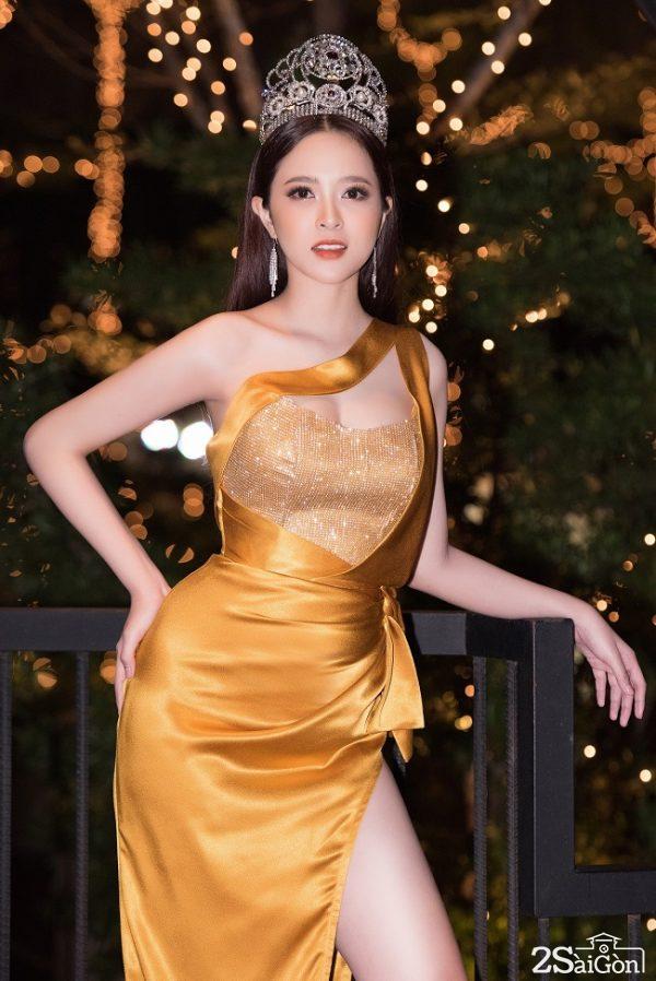 Hoa hậu Lê Bảo Tuyền hội ngộ dàn nghệ sĩ tại tiệc cảm ơn sau hơn 3 tháng đăng quang