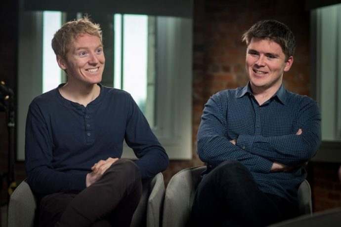 Hai anh em bỏ học xây dựng startup trị giá 95 tỷ USD