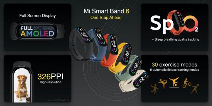 Mi Smart Band 6 ra mat anh 1