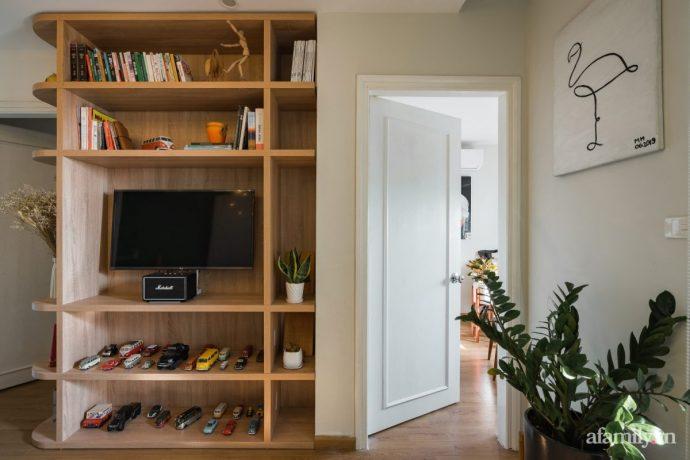 Căn hộ 60m² hoàn thiện nội thất tinh tế dành cho vợ chồng trẻ có chi phí 250 triệu đồng ở Hà Nội - Ảnh 6.