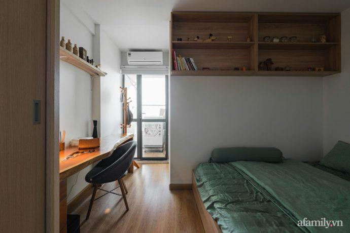 Căn hộ 60m² hoàn thiện nội thất tinh tế dành cho vợ chồng trẻ có chi phí 250 triệu đồng ở Hà Nội - Ảnh 11.