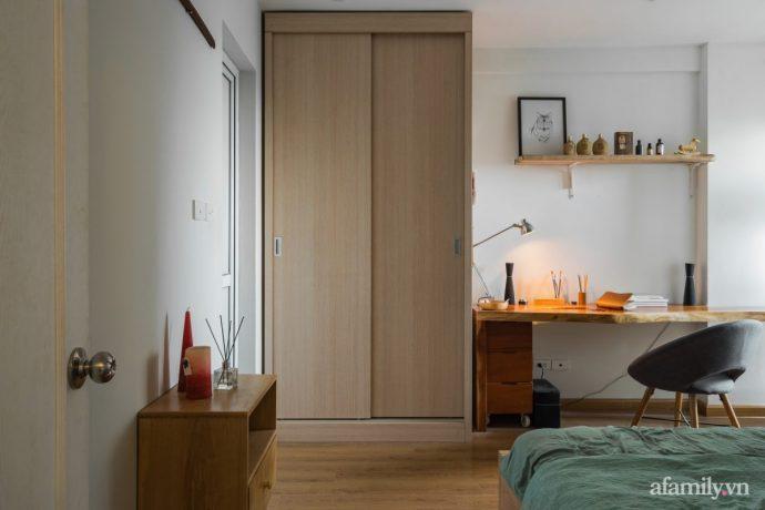 Căn hộ 60m² hoàn thiện nội thất tinh tế dành cho vợ chồng trẻ có chi phí 250 triệu đồng ở Hà Nội - Ảnh 12.