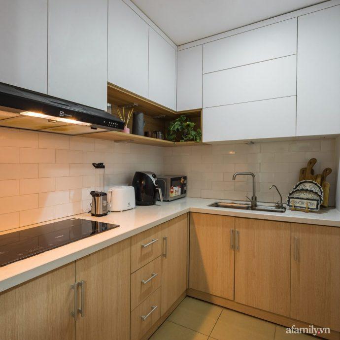 Căn hộ 60m² hoàn thiện nội thất tinh tế dành cho vợ chồng trẻ có chi phí 250 triệu đồng ở Hà Nội - Ảnh 19.