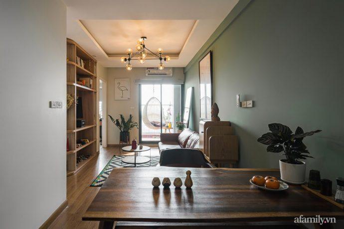 Căn hộ 60m² hoàn thiện nội thất tinh tế dành cho vợ chồng trẻ có chi phí 250 triệu đồng ở Hà Nội - Ảnh 22.
