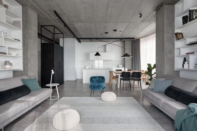 Tư vấn thiết kế căn hộ rộng 88m² theo phong cách Rustic hiện đại cho gia đình ở Hoàng Mai, chi phí tiết kiệm chỉ 118 triệu đồng - Ảnh 3.