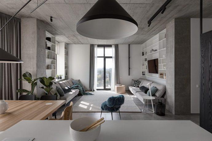 Tư vấn thiết kế căn hộ rộng 88m² theo phong cách Rustic hiện đại cho gia đình ở Hoàng Mai, chi phí tiết kiệm chỉ 118 triệu đồng - Ảnh 4.